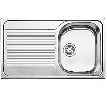 Buy Blanco Tipo 45 S Single Bowl Inset Sink, Stainless Steel Online at johnlewis.com