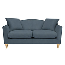 Buy John Lewis Melrose 2 Seater Sofa, Oak Legs, Darwen Loch Blue Online at johnlewis.com