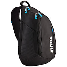 "Buy Thule Crossover Sling Backpack for 13"" MacBook Pro, Black Online at johnlewis.com"