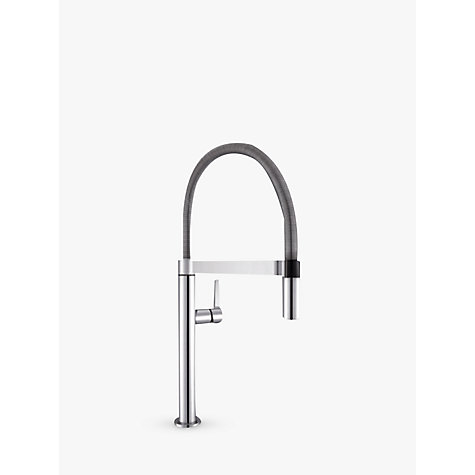 buy blanco culina s mini ch4600 single lever mixer kitchen tap chrome john lewis. Black Bedroom Furniture Sets. Home Design Ideas