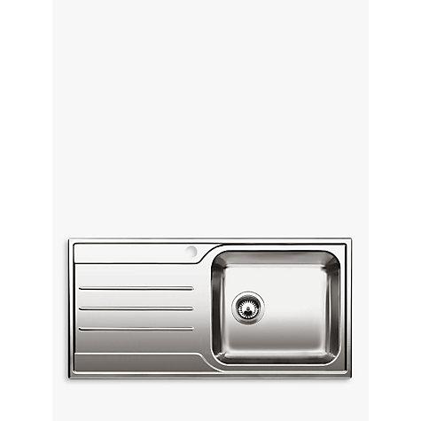 Blanco Median Sink : Blanco Median XL 6 S Single Bowl Inset Sink, Stainless Steel , Right ...