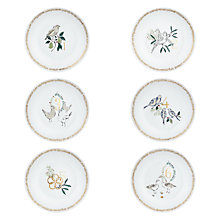 Buy John Lewis '12 Days of Christmas' 20cm Plates, Set of 12 Online at johnlewis.com