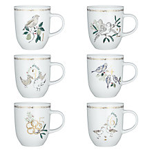 Buy John Lewis '12 Days of Christmas' Mug, Set of 12 Online at johnlewis.com