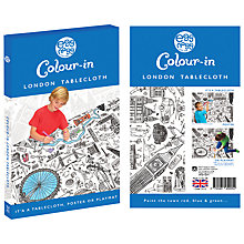 Buy Eggnogg Colour In London Table Cloth Online at johnlewis.com