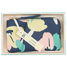 Buy Busy B Floral Coin Purse, Navy Online at johnlewis.com