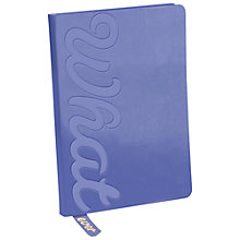 Buy Knock Knock Embossed Whatever Journal Online at johnlewis.com
