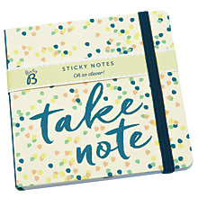 Buy Busy B Sticky Notes Online at johnlewis.com