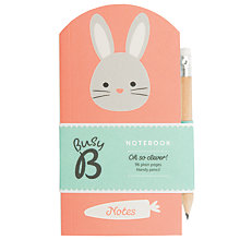 Buy Busy B Bunny Notebook with Pencil Online at johnlewis.com