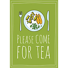 Buy Dear Henry Come For Tea Notecards, Pack of 8 Online at johnlewis.com