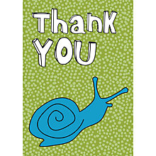 Buy Dear Henry Snail Thank You Notecards, Pack of 10 Online at johnlewis.com
