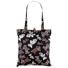 Buy Radley Fleet Street Foldaway Tote Bag, Black Online at johnlewis.com
