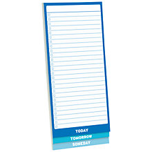 Buy Knock Knock 3 Way To Do List Pad Online at johnlewis.com