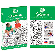 Buy Eggnogg Colour In Christmas Table Cloth Online at johnlewis.com