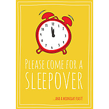 Buy Dear Henry Sleepover Invitations, Pack of 8 Online at johnlewis.com