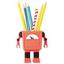 Buy DOIY Penbot Holder, Red Online at johnlewis.com