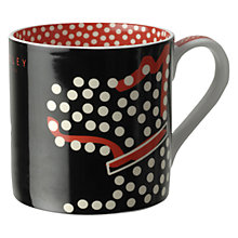Buy Radley Fleet Street Mug, Black Online at johnlewis.com