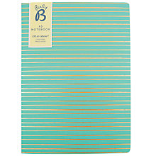 Buy Busy B A5 Stripe Notebook Online at johnlewis.com