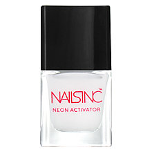 Buy Nails Inc Neon Activator White Base Coat, 5ml Online at johnlewis.com