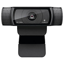 Buy Logitech C920 HD Pro Webcam Online at johnlewis.com