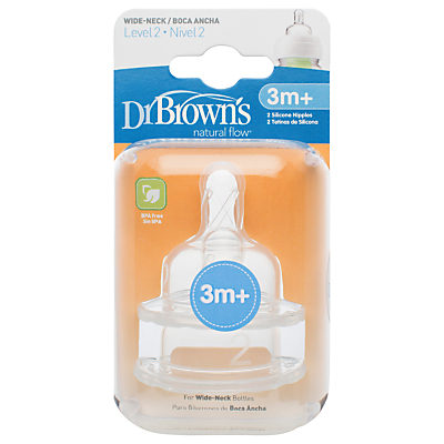 Image of Dr Brown's Level 2 Teat, Pack of 2
