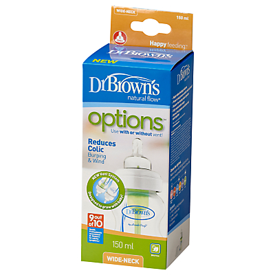 Image of Dr Brown's Natural Flow Options Bottle, 150ml