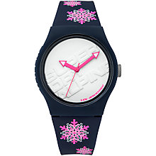 Buy Superdry Unisex Urban Snowflake Silicone Strap Watch Online at johnlewis.com