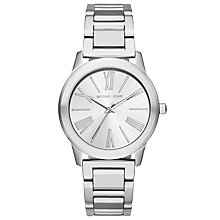 Buy Michael Kors MK3489 Women's Hartman Bracelet Strap Watch, Silver Online at johnlewis.com
