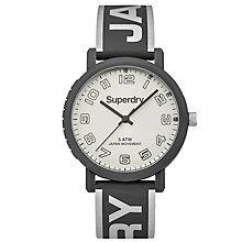 Buy Superdry Women's Campus Silicone Strap Watch Online at johnlewis.com