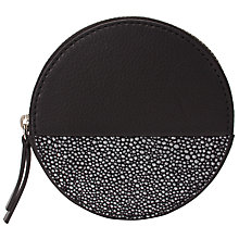 Buy John Lewis Liv Leather Round Coin Purse Online at johnlewis.com
