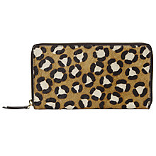 Buy John Lewis Liv Leather Travel Wallet Online at johnlewis.com