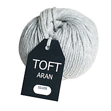 Buy Toft Aran Yarn, 100g Online at johnlewis.com