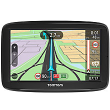 Buy TomTom VIA 52 Sat Nav With Lifetime Map Updates, Western Europe Online at johnlewis.com