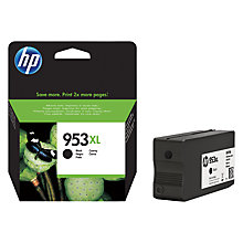 Buy HP 953 XL Black Ink Cartridge Online at johnlewis.com