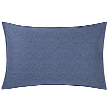 Buy Calvin Klein Bonaire Leaf Standard Pillowcase Online at johnlewis.com