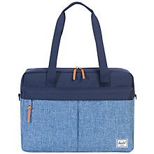 Buy Herschel Supply Co. Gibson Messenger Bag, Blue Online at johnlewis.com