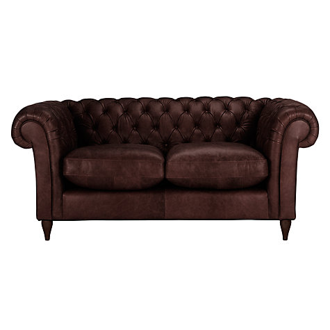 Buy John Lewis Cromwell Chesterfield Leather Small 2