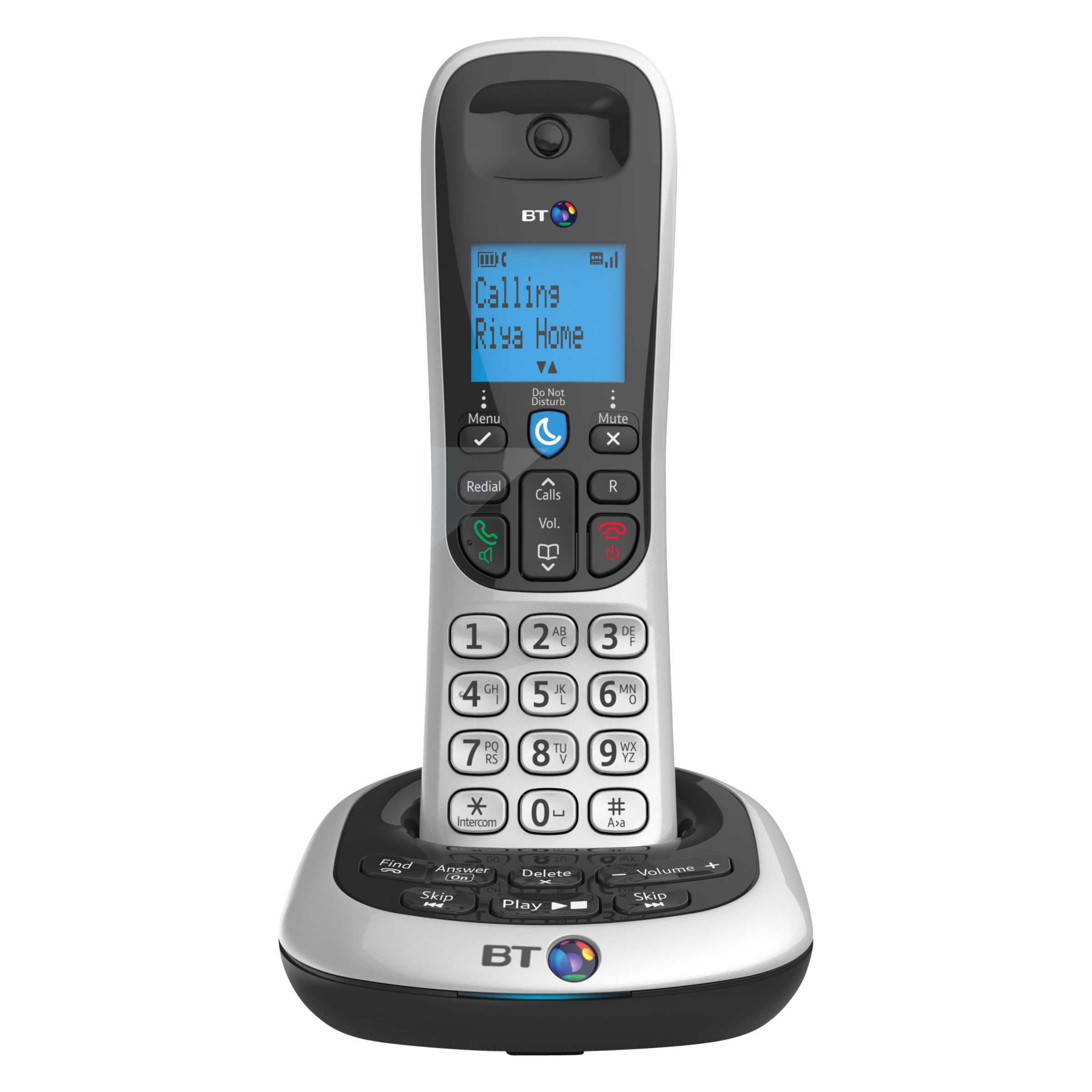 BT BT 2700 Digital Cordless Phone with Answering Machine, Single DECT
