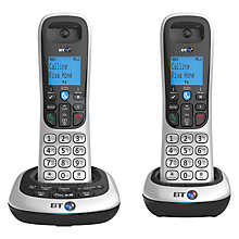 Buy BT 2700 Digital Cordless Phone with Answering Machine, Twin DECT Online at johnlewis.com