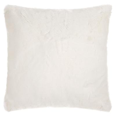 John Lewis Faux Fur Cushion, L59 x D59cm