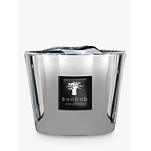 Buy Baobab Platinum Candle ,1.5kg Online at johnlewis.com