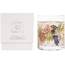 Buy Stoneglow Nature's Gift Night Scented Candle Online at johnlewis.com