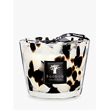 Buy Baobab Black Pearls Candle, 1.5kg Online at johnlewis.com