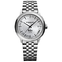 Buy Raymond Weil 2237-ST-BEAT1 Men's Maestro Beatles Bracelet Strap Watch, Steel Online at johnlewis.com