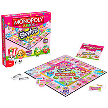 Buy Monopoly Junior Shopkins Board Game Online at johnlewis.com