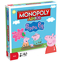 Buy Monopoly Junior Peppa Pig Board Game Online at johnlewis.com