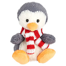 Buy Jellycat Poppet Baby Penguin Soft Toy, 11cm Online at johnlewis.com