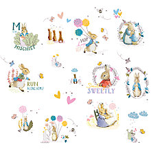Buy Beatrix Potter Peter Rabbit Wall Stickers Online at johnlewis.com