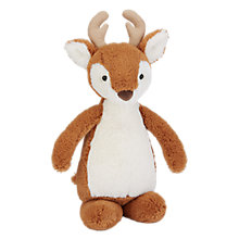 Buy Jellycat Bobkin Reindeer Soft Toy, Medium Online at johnlewis.com