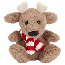 Buy Jellycat Poppet Baby Reindeer Soft Toy, 10cm Online at johnlewis.com