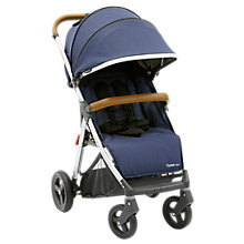 Buy Oyster Zero Pushchair, Oxford Blue Online at johnlewis.com